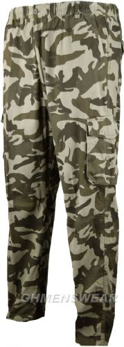 Espionage Camo Cargo Trousers